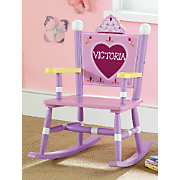 Personalized Princess Rocking Chair