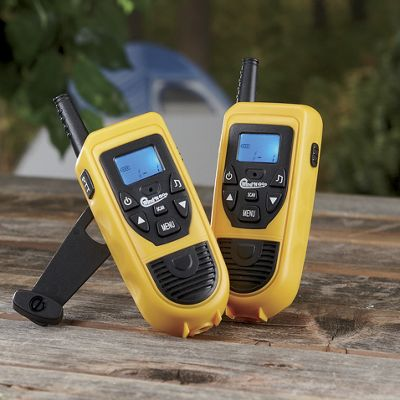 10-mile Two-way Radios with Hand Cranks