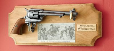 Gunfight at the OK Corral Framed Gun Set