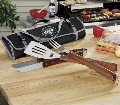 NFL BBQ Tools with Tote