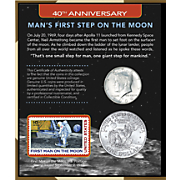40th Anniversary Mans First Step On The Moon