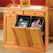 3 Bin Cabinet