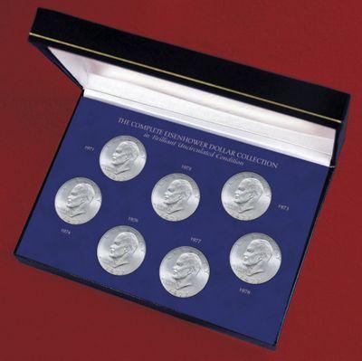 Complete Eisenhower Dollar Collection
