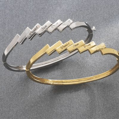 Family Bangle Bracelet