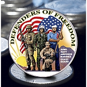 Defenders Of Freedom Eisenhower Dollar