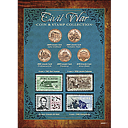 New York Times Civil War Coin & Stamp Collection