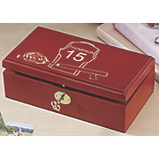 Softball Keepsake Box