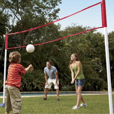3-In-1 Tennis, Badminton and Volleyball Set