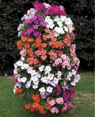 Freestanding Flower Tower