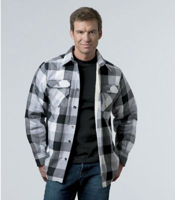 Sherpa-Lined Shirt-Jacket