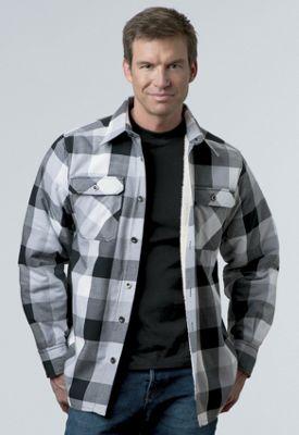 Sherpa-Lined Shirt-Jacket