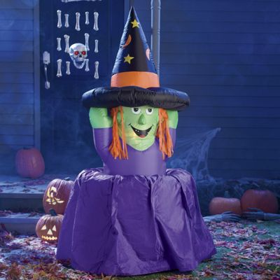 6-Feet Inflatable Melting Witch