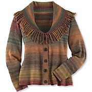 Autumn Fringe Cardigan