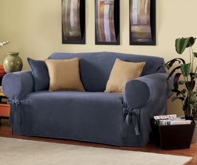 Ultra-Soft Sueded Microfiber Slipcovers