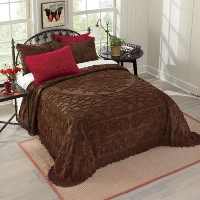 Fringed Chenille Bedspread