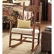 Love Hope Faith Rocking Chair