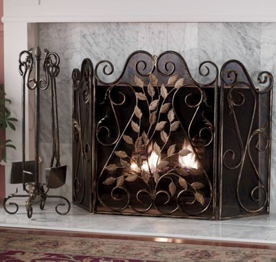 Windamere Fireplace Screen & Tools