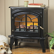 Vintage-style Electric Fireplace