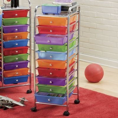 10-Drawer Cart
