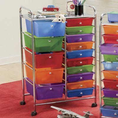 15-Drawer Cart