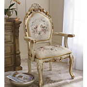 Cherub Tapestry Chair