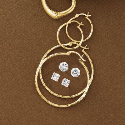 4-Pair Earring Set