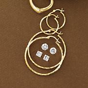 4 Pair Earring Set