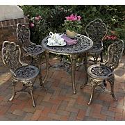 5-piece Bronzed Patio Set