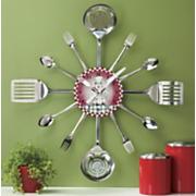 Wall Clock Bon Appetit