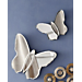 Set of 2 Butterfly Mirrors