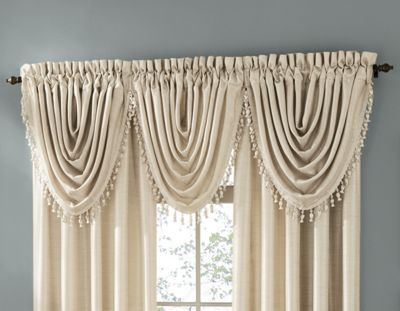 Treasure Beaded Waterfall Valance