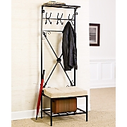 Entryway Coat Rack/Bench