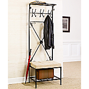Coat Rack bench Entryway