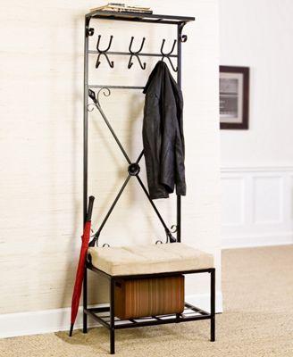 Entryway Coat Rack/Bench