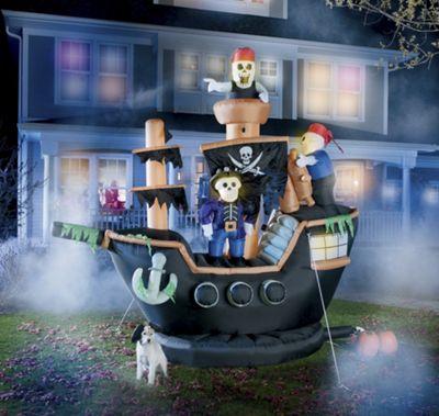 12-Feet Inflatable Sea Rover Pirate Ship