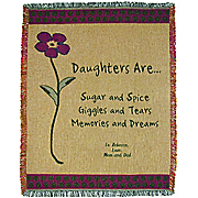 Throw Daughters Personalized