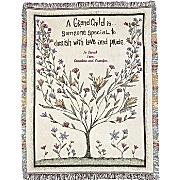 Throw Grandchild Tree Personalized