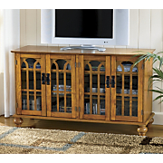 4-Door Arched TV Stand