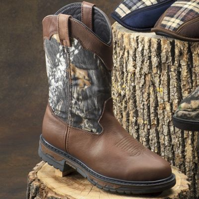 Laredo Boot, Men's Leather Camo