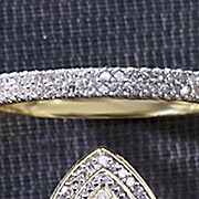 Ring Double Row Diamond