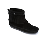 Minnetonka Moccasin Boot High Top Fringe