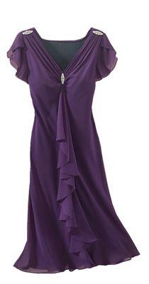 Muriel Chiffon Dress