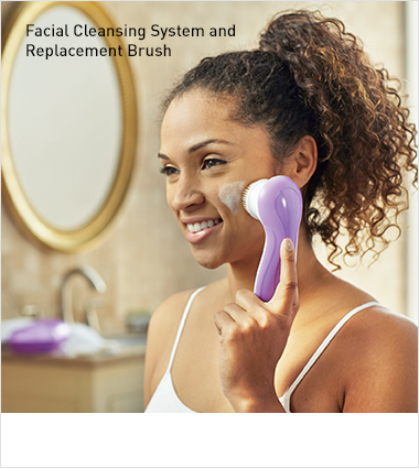 Facial Cleansing System and Replacement Brush