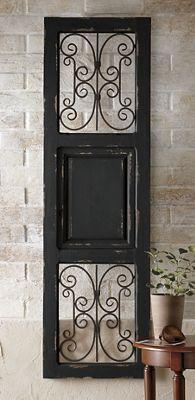 Gate Wall Dcor from Midnight Velvet 41477