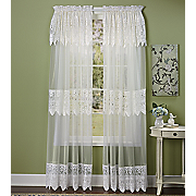 Valerie Panels Valance And Tier Pair
