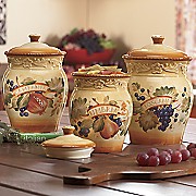 Kitchen Canister Sets at Montgomery Ward