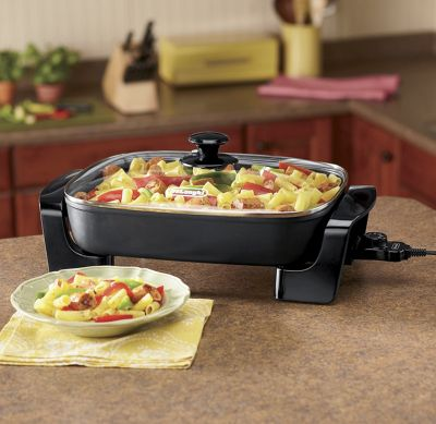 Nonstick 7-Qt. Electric Skillet by DeLonghi