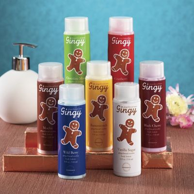 Set of 7 Holiday Scented Lotions