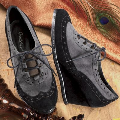 Freshica Oxford Wedge by Montgomery Ward