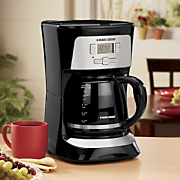 Black & Decker 12-Cup Coffeemaker with Brew Strength Selector